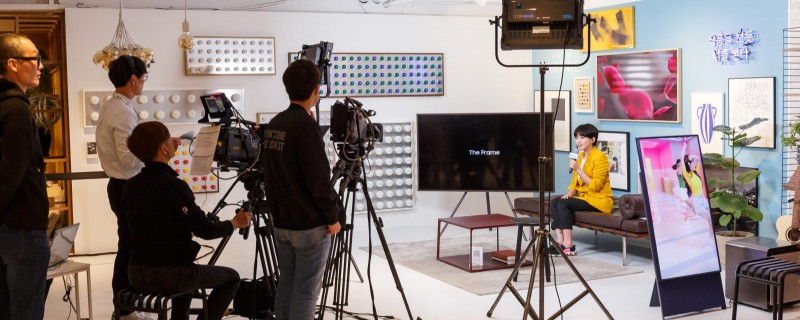 CORPORATE & MEDIA EVENT: SAMSUNG 8K QLED TV LAUNCHING & PRESSE TAG 2019