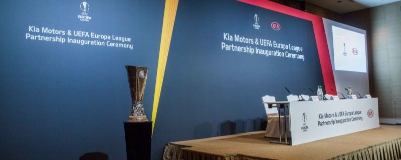 CONFERENCE: KIA ALS PARTNER DER UEFA EUROPA LEAGUE 2018
