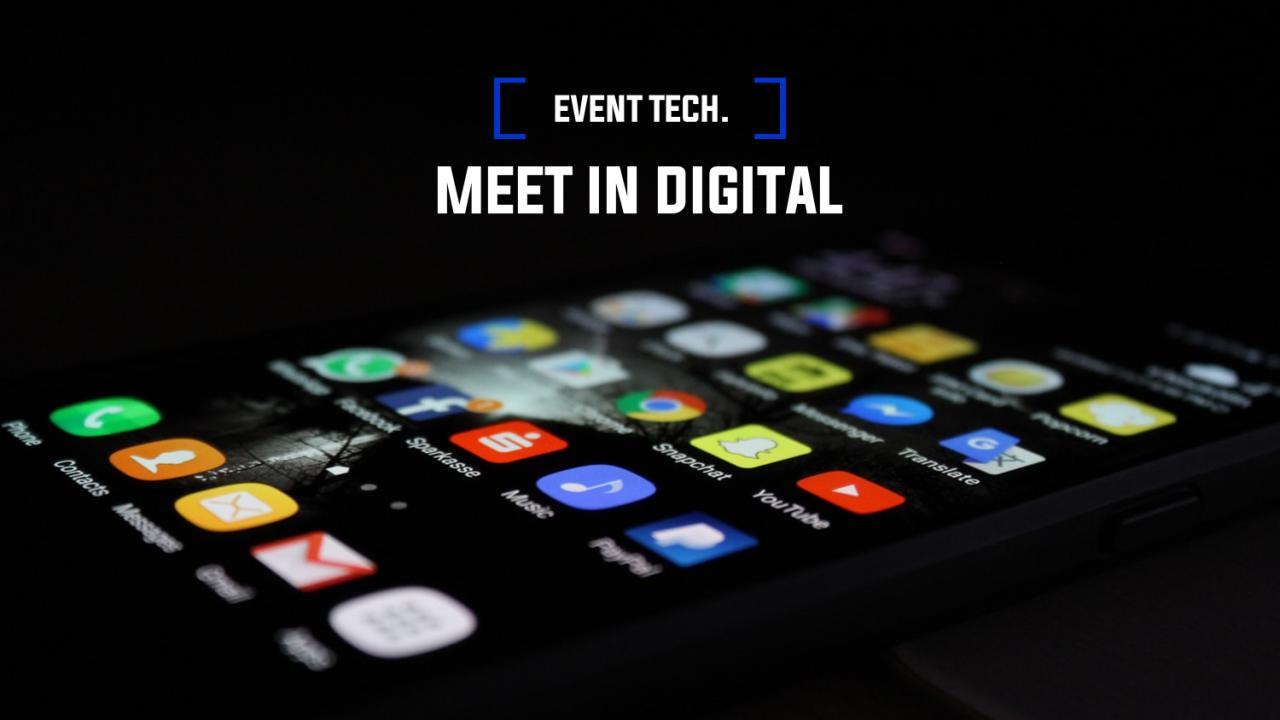 EVENT TECH.: Meet In Digital