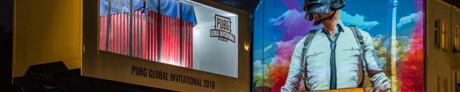 ROAD SHOW: PUBG CONVOY TOUR & GUERILLA ACTIVITIES